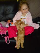 Taylor and Tigger Feb 2012