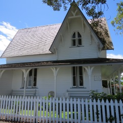 The Old Customs House built in 1870, which housed the Police.