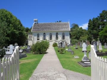 Christ Church - oldest working Church in NZ
