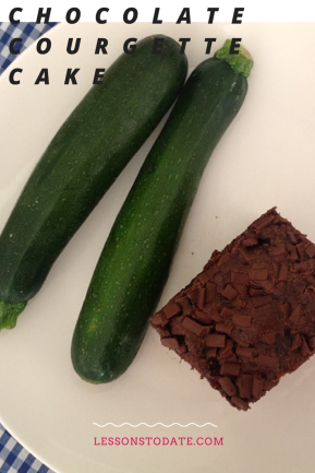 Choc Courgette Cake
