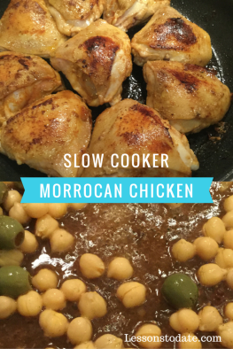 Slow Moroccan chicken
