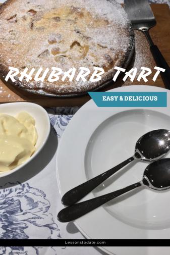 RHUBARB TART (1)