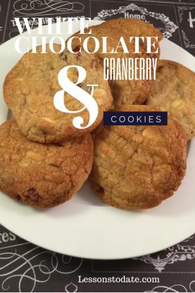 White Choc Cookies
