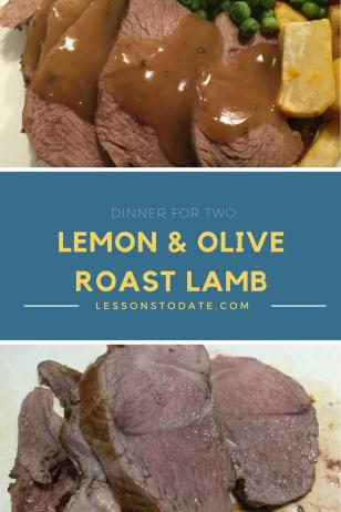 Lemon & Olive Roast Lamb