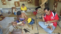 Traditional woodcarving