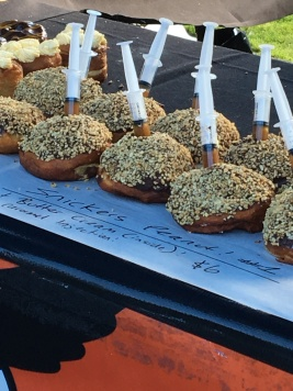 Snickers Peanut Donuts